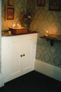 Church cupboard