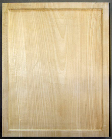 Hollowed icon panel. Limewood/ Basswood/ Linden
