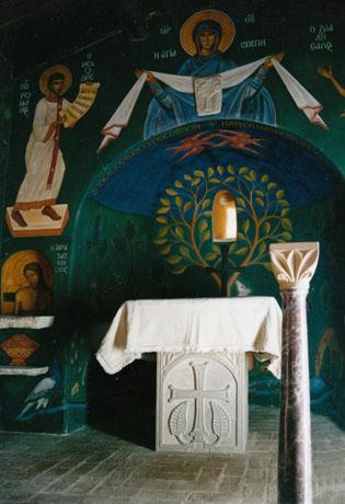 Holy Table · Altar. Limestone