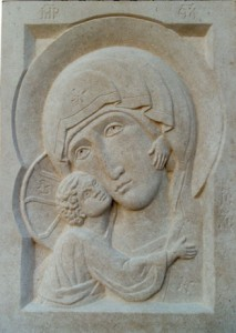 Vladimir Mother of God. Bath stone