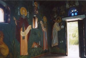 Fresco, Greece.