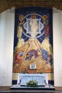 Fresco of the Tranfiguration.