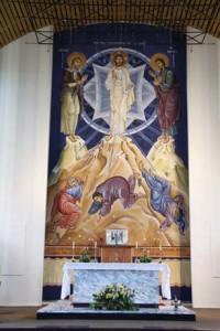 Fresco of the Tranfiguration.