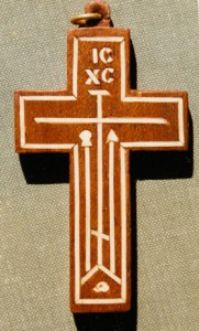 Neck cross.