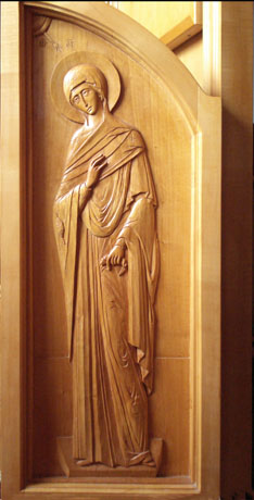 Royal Doors. Limewood/basswood/linden.