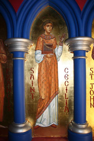 Saint Cecilia.