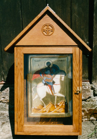 Shrine icon case