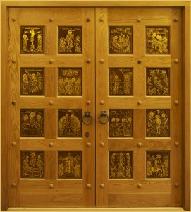 Doors for the Church of St Mary Magdalene, Madrid