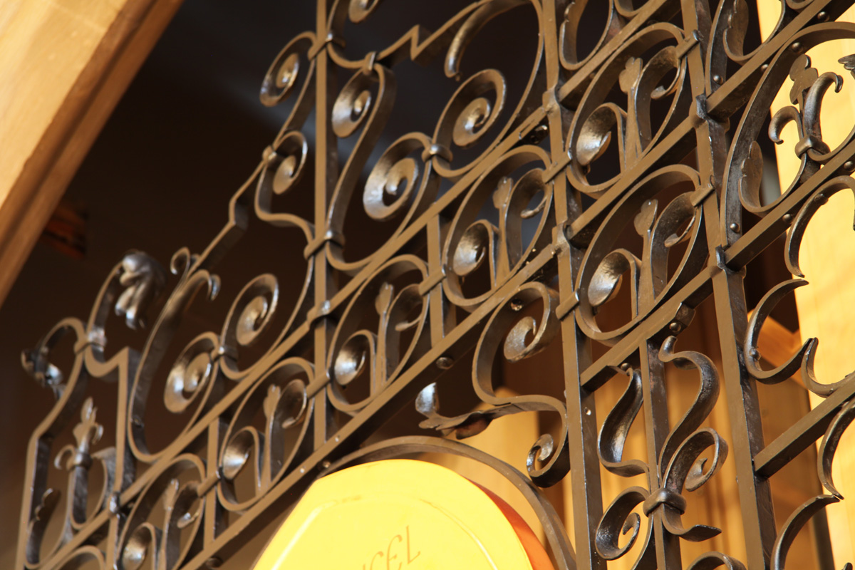 Wrought Iron Screen, St Michaels and All Angels, Bedford Park,…