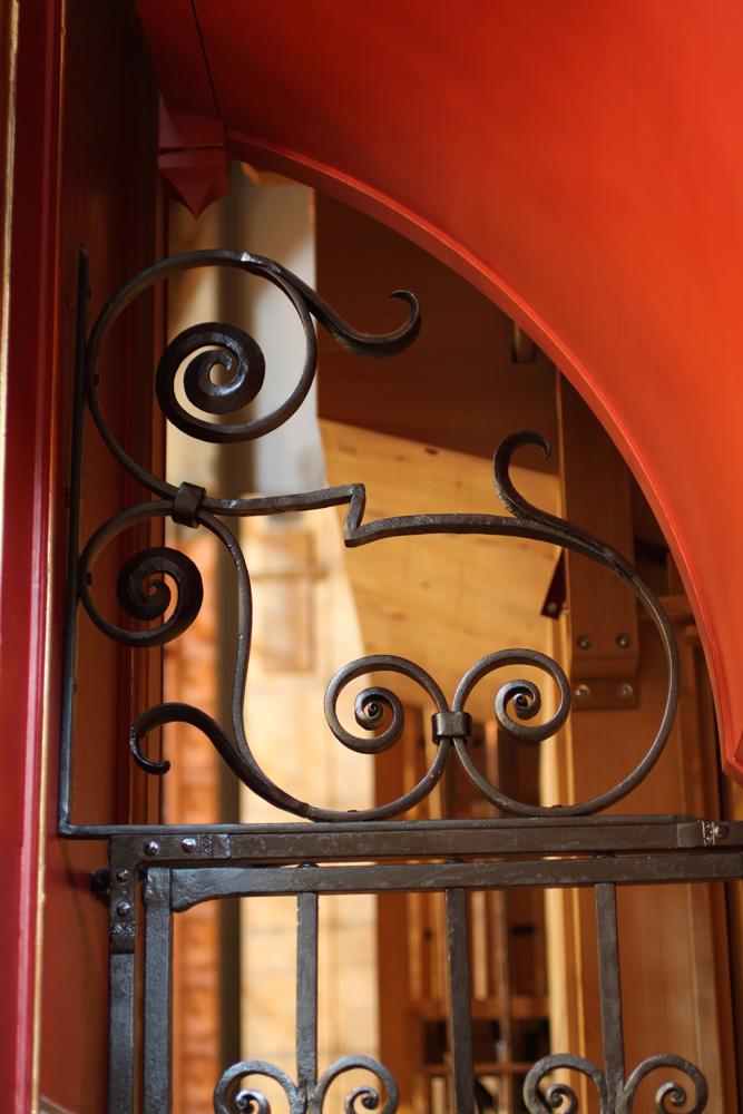 Organ gates (detail)