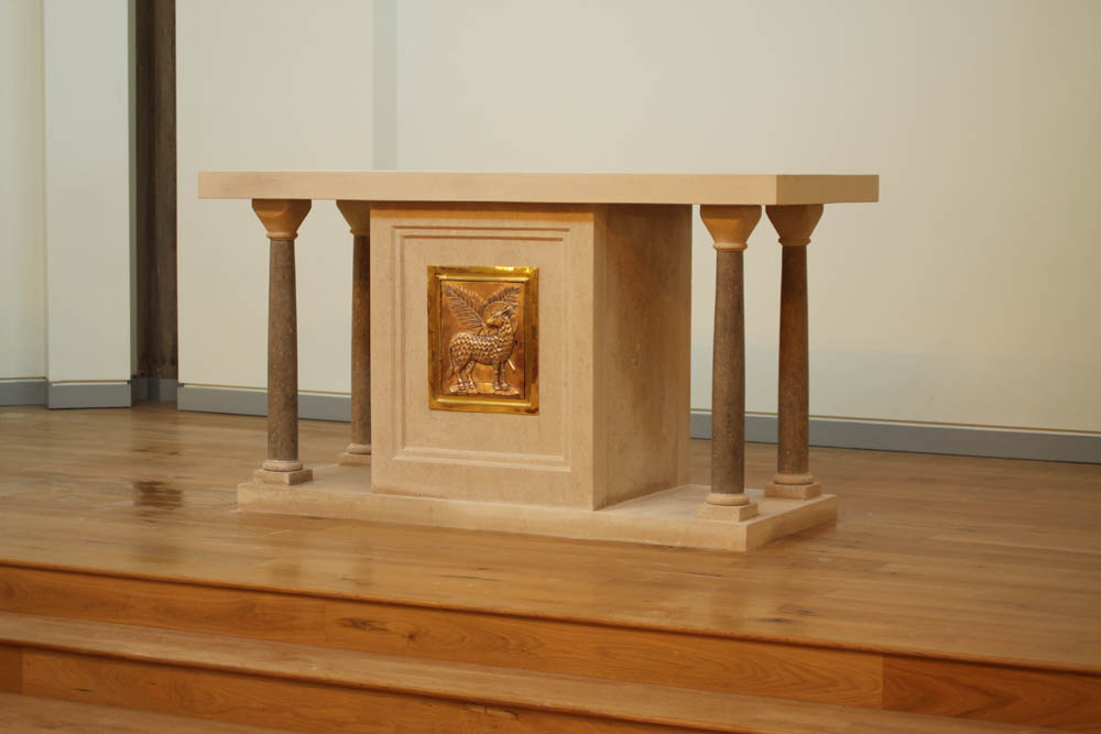 Altar for Fisher House, Cambridge