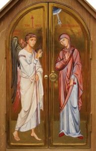 Annunciation Tabernacle, detail