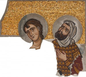 st john and st longinus mosaic