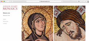 New mosaic website