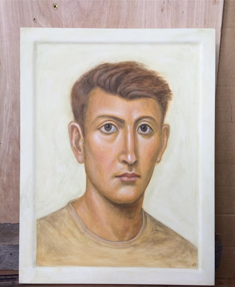 """I have just finished this invented """"portrait"""", a commission from…"""